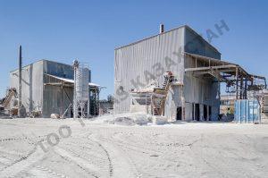 ТОО TUTAS Казахстан, производство: минеральный порошок, пыль инертная, баритовый утяжелитель